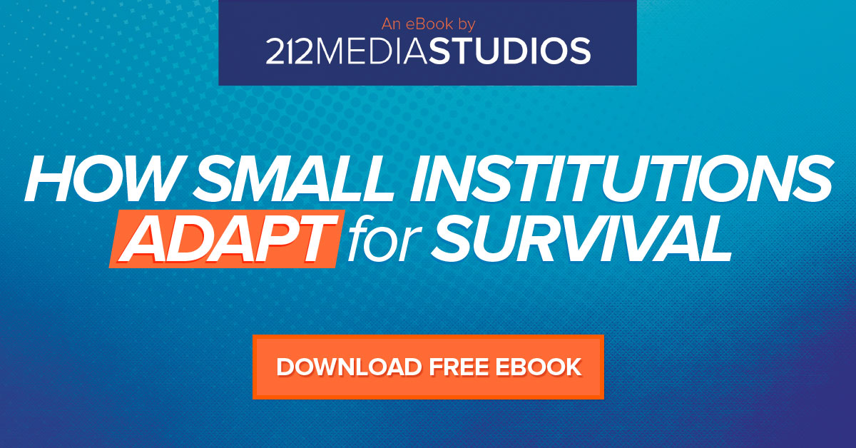 how small institutions adapt for survival ebook cta